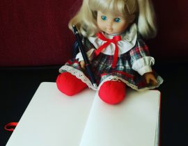 Moleskining doll.