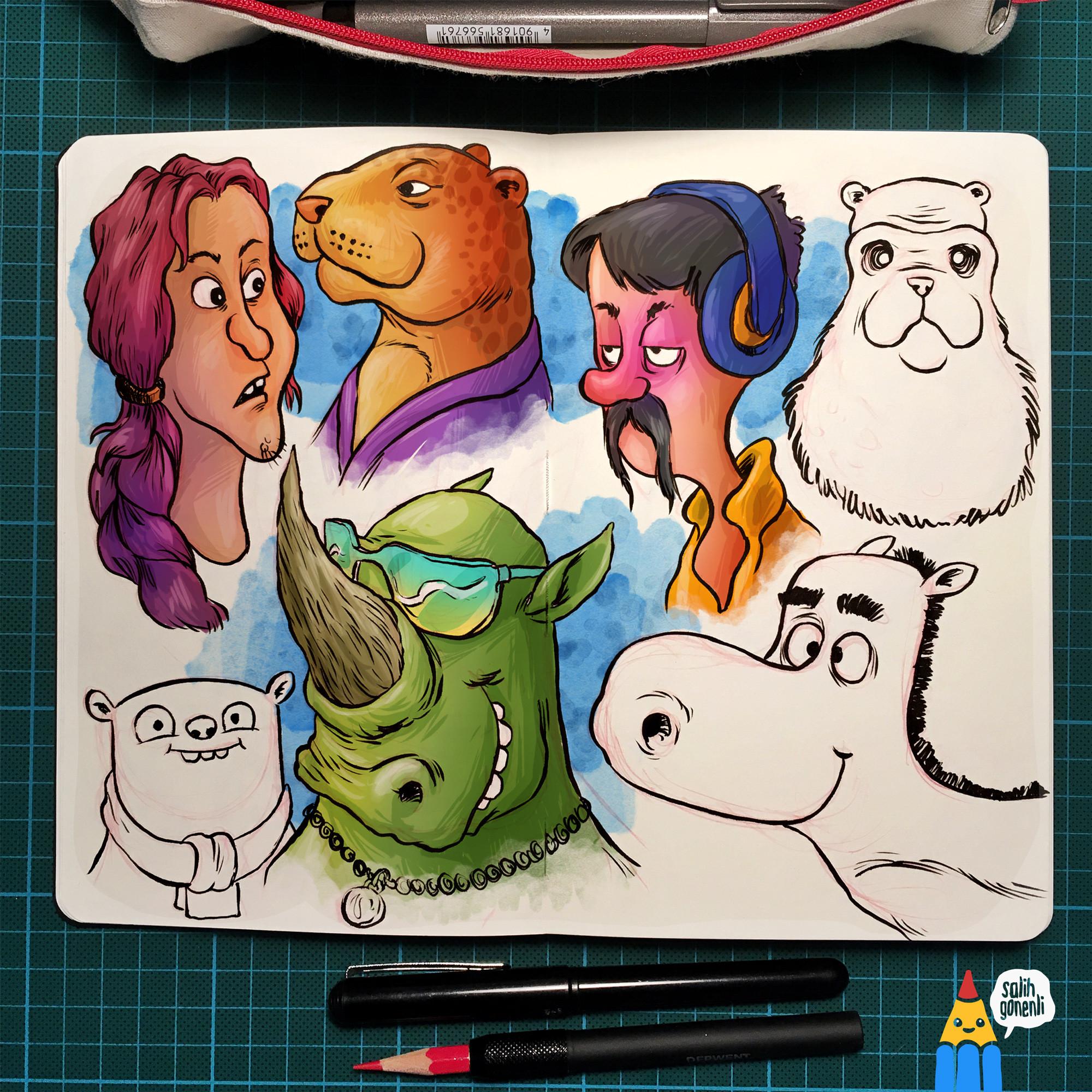 Shape Doodles 2