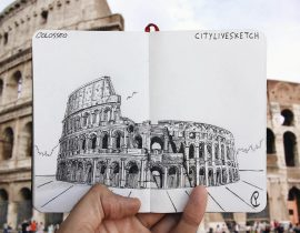 Colosseo Live Sketch.
