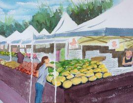 Farmers Market, SF Bay Area
