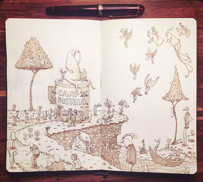 Cafe Bustelo (sketch)