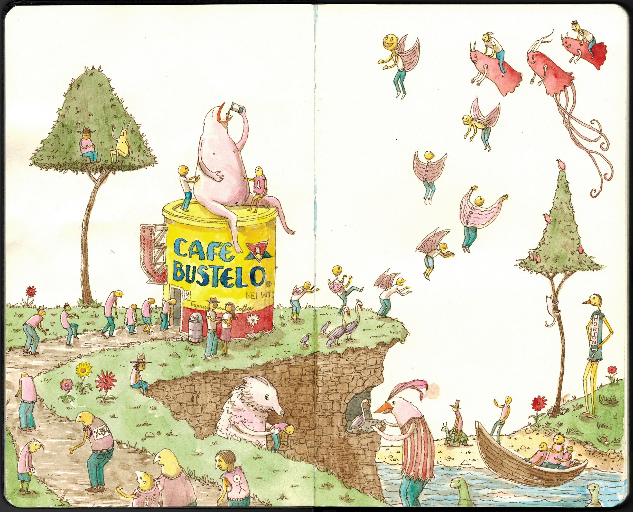 Cafe Bustelo (watercolor)