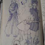 Sketchbook with me.