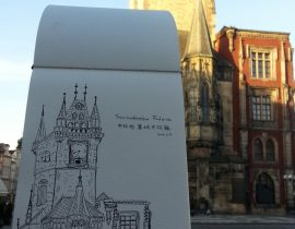 Europe Traveling Sketch ~ Czech.Prague Astronomical Clock