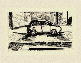 Car in Brooklyn Heights