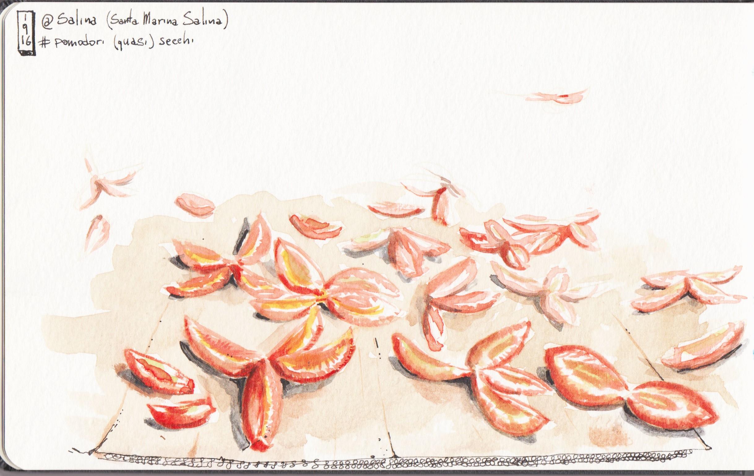 Salina, Pomodori Secchi