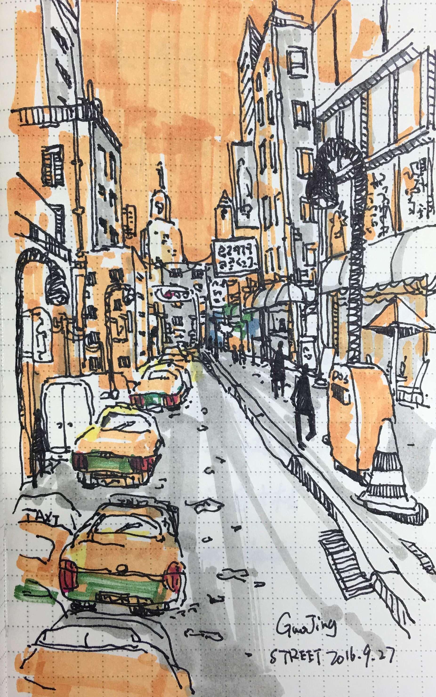 Street Sketch