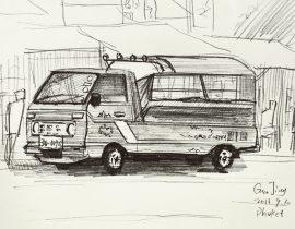 Car at Phuket