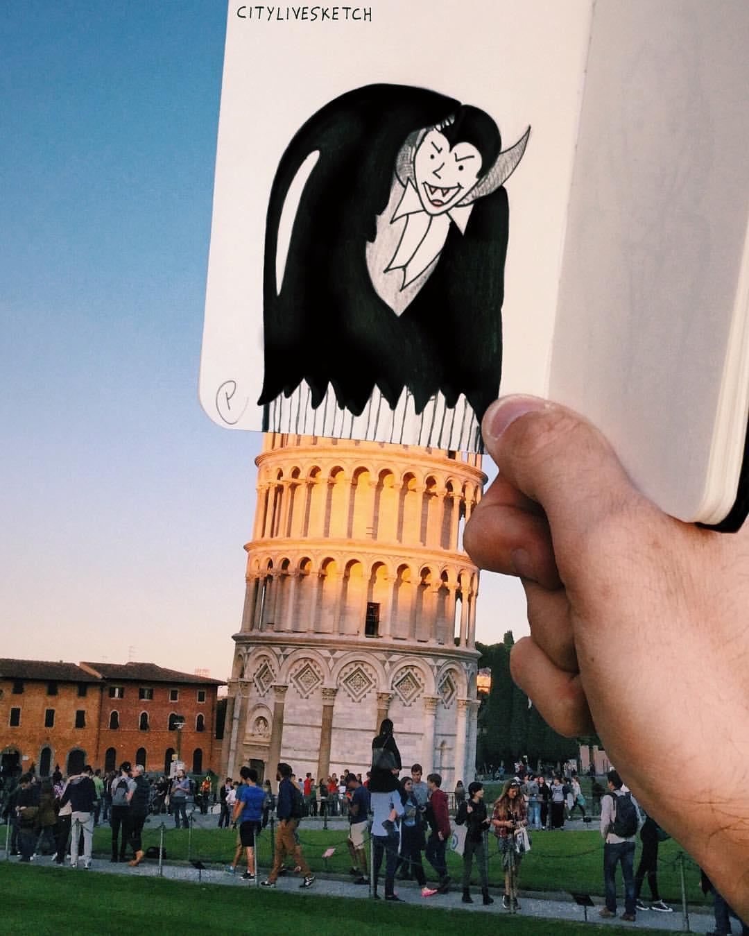 Halloween in Pisa!