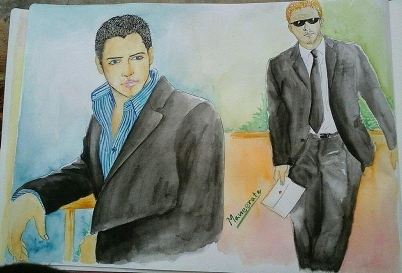 Two Actors (Miller – Martini)