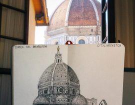 Cupola del Brunelleschi Live Sketch