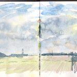 From behind Rayner's Farm, Swaffham Bulbeck, Cambridge