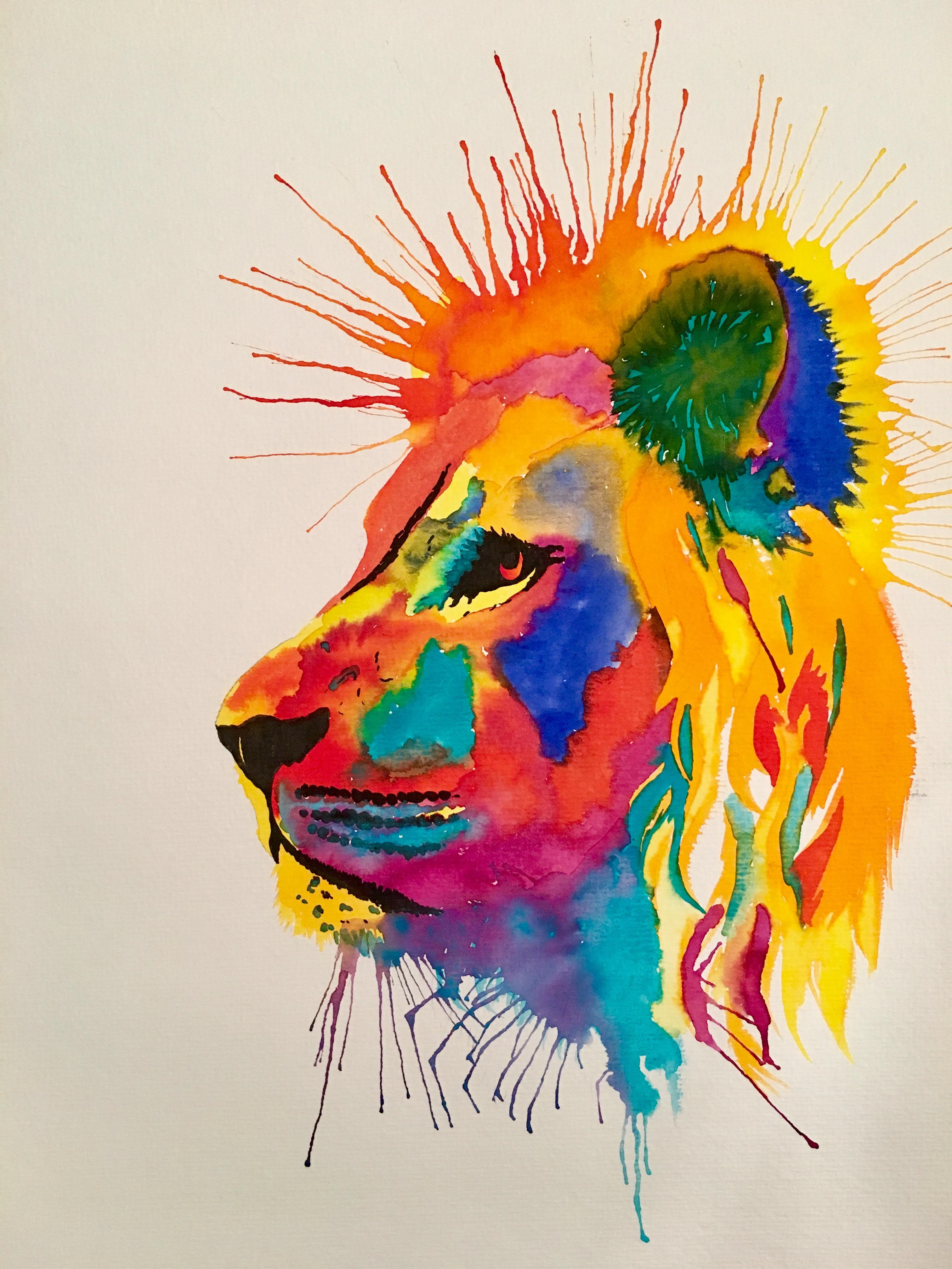 The lion, symbol of Gryffindor House
