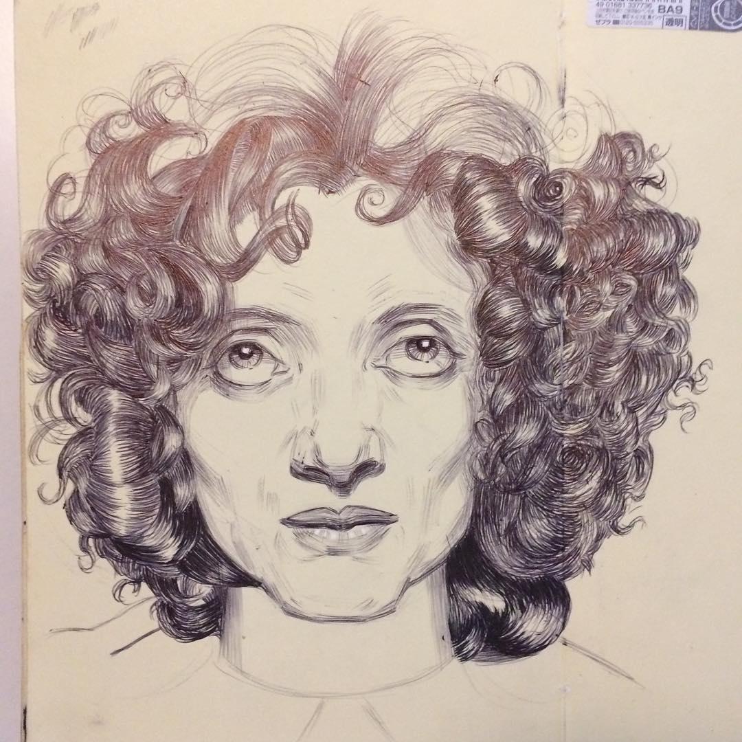 Hair Sketchbook