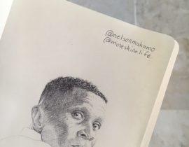 Portrait of Nelson Makamo by Ari Hersch