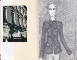Fashion illustration – Chanel