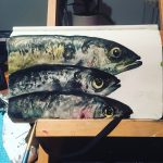 Fish in watercolour