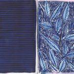 Blue leafs
