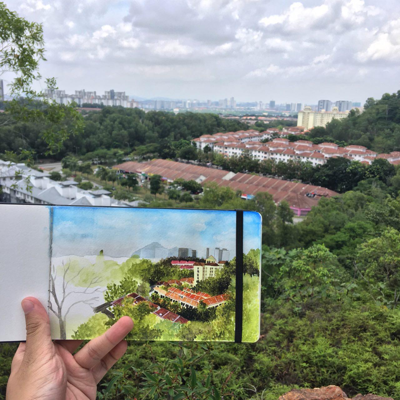 Hutan Simpan Ayer Hitam – Malaysia