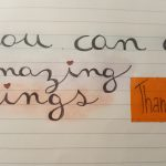 YOU CAN DO AMAZING THINGS!