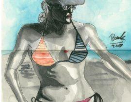 Julianne Hough In Lady On The Beach