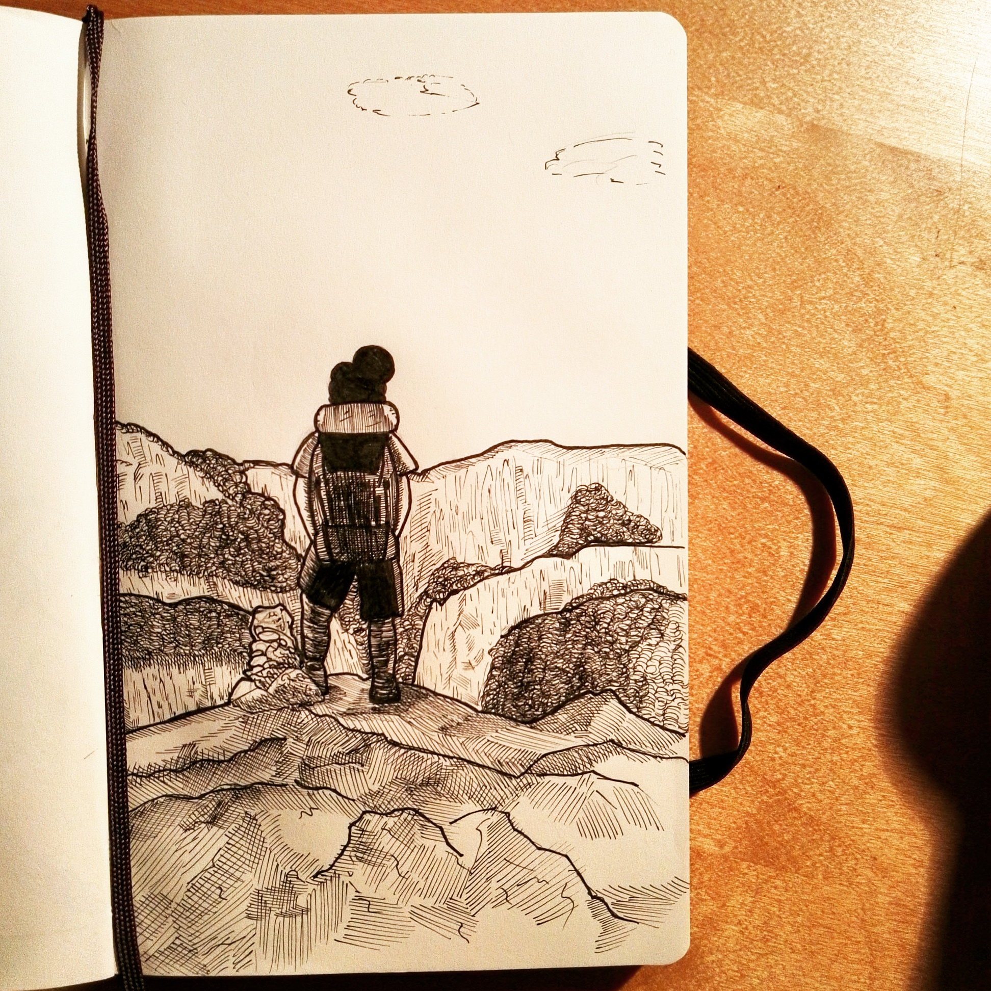 Corsica – #inktober2016
