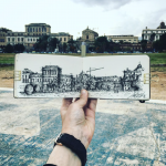 Urban sketch Palermo