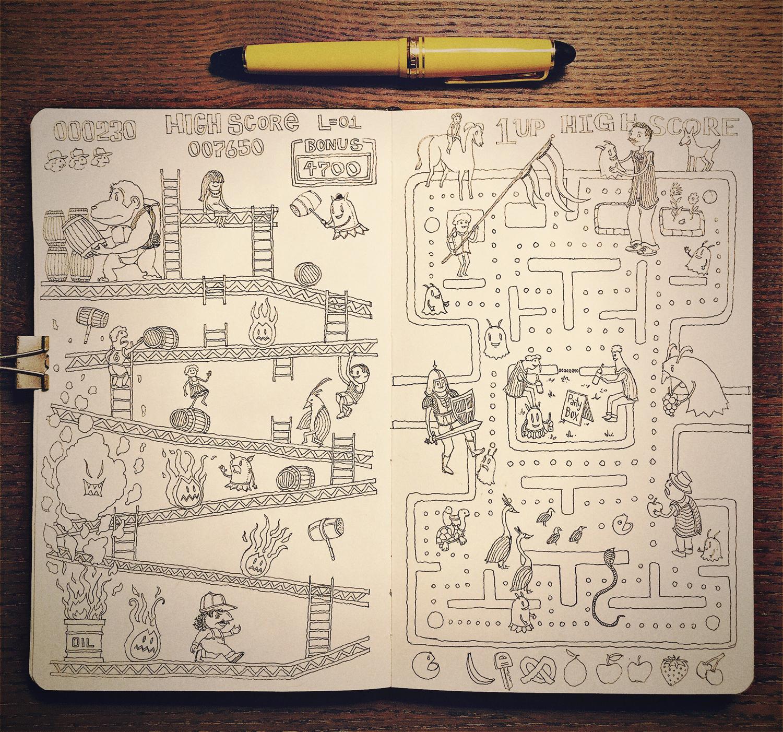 Donkeypac Sketch