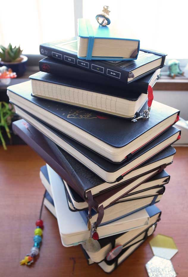 H[acca]'s Moleskine Tower