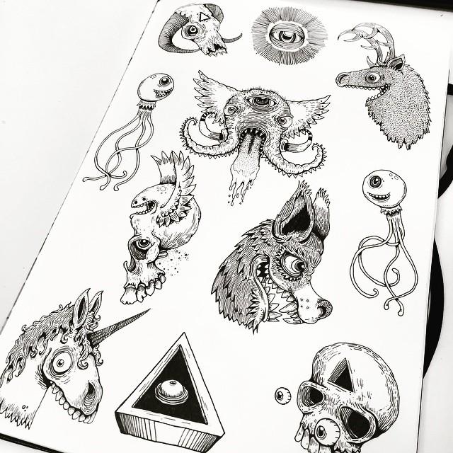 Monster flash sheet