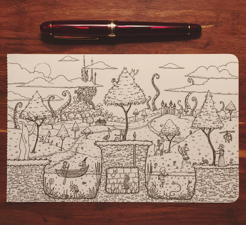 Three Islands (sketch)