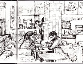 cafe sketch no.1