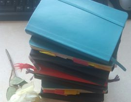 My Moleskine Tower!