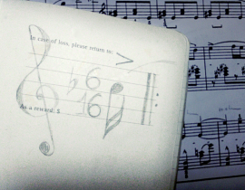 In case of loss… follow the music