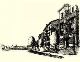 side of street