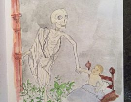 Death was ever present in the Middle Ages. Danse Macabre, 1492
