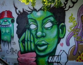Graffiti em Casa Amarela