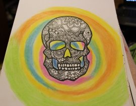 muerte en color
