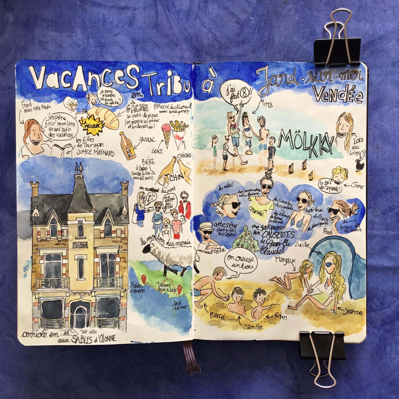 Carnet de voyage 2017