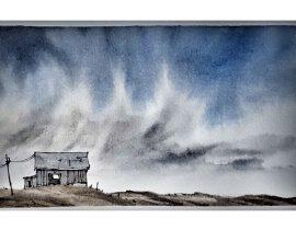 lone house in prairie
