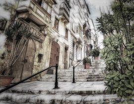 Ascending path, Sicily