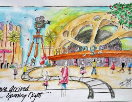 Motiongate Theme Park Dubai Arrival Experience