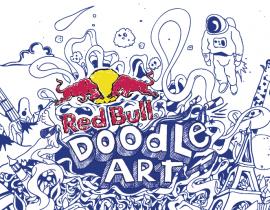 myMoleskine Red Bull Doodle Art