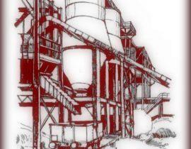 abandoned silos