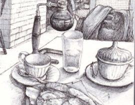 cafe #001