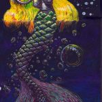 """""""The Deep"""" An Exquisite Corpse by Eric Knisley and Marx Myth"""