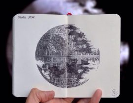 Death Star Live Sketch