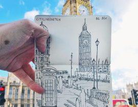 Big Ben Live Sketch