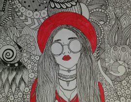 #drawinggirls #doodleart #marysaidh