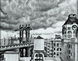 Clocktower in Dumbo, Brooklyn